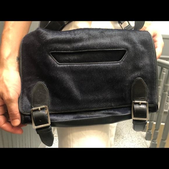 475d142305c Theyskens' Theory calf hair messenger bag. M_5b940fcb4ab6334d7684bc58